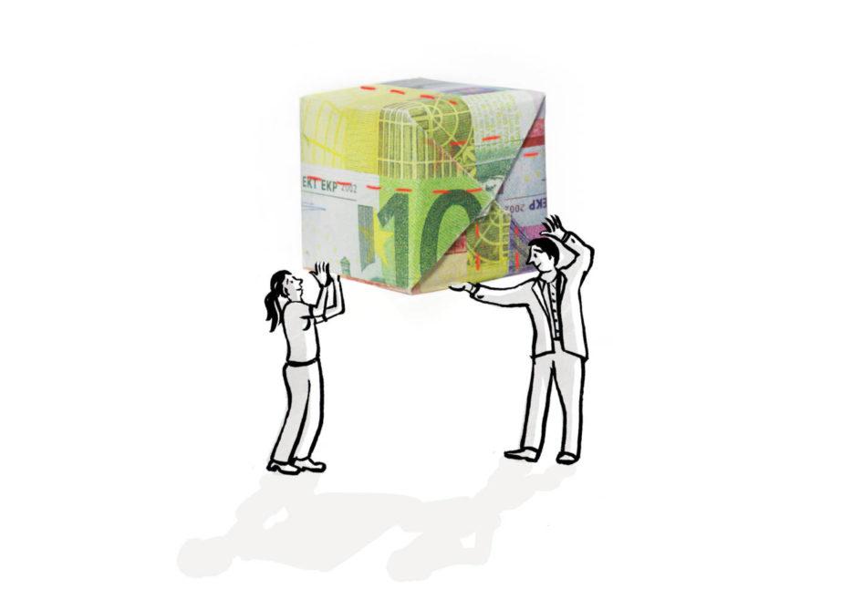 enorm magazin irmela schautz, uner geld ist kaputt, Finazkrise, alternative Ideen, Geld, finance, ideas, money