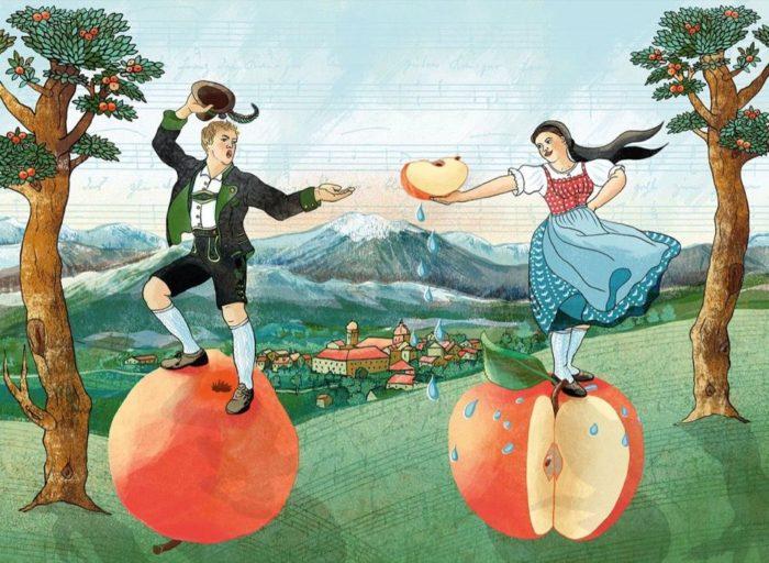 Apfelschnitztanz